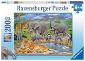 Puzzle 200 p XXL - Animaux d Afrique Puzzle;Puzzle enfant - Ravensburger