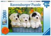 Cuddly Puppies            200p Puslespil;Puslespil for børn - Ravensburger