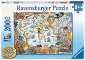 PIRACKA MAPA 200 EL Puzzle;Puzzle dla dzieci - Ravensburger