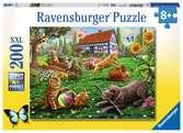 ZABAWA W OGRODZIE 200 EL XXL Puzzle;Puzzle dla dzieci - Ravensburger