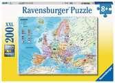 POLITYCZNA MAPA EUROPY 200 EL XXL Puzzle;Puzzle dla dzieci - Ravensburger