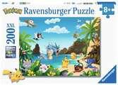 Puzzle 200 p XXL - Attrapez-les tous ! / Pokémon Puzzle;Puzzle enfant - Ravensburger