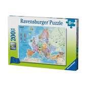 Puzzle 200 p XXL - Carte d Europe Puzzle;Puzzle enfant - Ravensburger