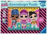 L.O.L. Sterren en glitters Puzzels;Puzzels voor kinderen - Ravensburger