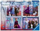 Frozen 2 Ravensburger Puzzle  4x100 Bumper Pack Puzzle;Puzzle per Bambini - Ravensburger
