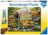 Animali della savana  Puzzle 200 XXL Puzzle;Puzzle per Bambini - Ravensburger