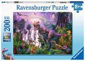 King of the dinosaurs   200p Puslespil;Puslespil for børn - Ravensburger