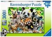 Puzzle 300 p XXL - Le selfie des animaux sauvages Puzzle;Puzzles enfants - Ravensburger