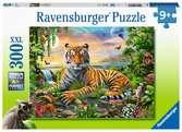 Vládce džungle 300 dílků 2D Puzzle;Dětské puzzle - Ravensburger