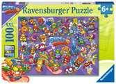 Super zings 100 dílků 2D Puzzle;Dětské puzzle - Ravensburger