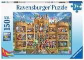 Kijkje in het ridderkasteel Puzzels;Puzzels voor kinderen - Ravensburger