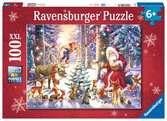 Natale nella foresta Puzzle 100 pz. XXL - Puzzle per bambini Puzzle;Puzzle per Bambini - Ravensburger