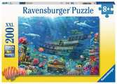 Ravensburger Sunken Ship 200 piece Jigsaw Puzzle with Extra Large Pieces for Kids age 8 years and up Puslespil;Puslespil for børn - Ravensburger