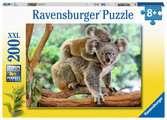Puzzle 200 p XXL - La famille koala Puzzle;Puzzle enfant - Ravensburger
