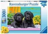 Zwarte labradors Puzzels;Puzzels voor kinderen - Ravensburger