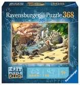 Exit KIDS Puzzle: Piráti 368 dílků 2D Puzzle;Dětské puzzle - Ravensburger