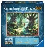 Exit KIDS Puzzle: V magickém lese 368 dílků 2D Puzzle;Dětské puzzle - Ravensburger