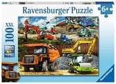 Véhicules de construction Puzzels;Puzzles adultes - Ravensburger