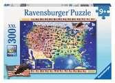 USA Map Jigsaw Puzzles;Children s Puzzles - Ravensburger