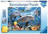 Karibský úsměv 300 dílků 2D Puzzle;Dětské puzzle - Ravensburger