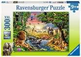 Abendsonne am Wasserloch Puzzle;Kinderpuzzle - Ravensburger