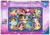 Gallery of the Disney Princesses Puslespil;Puslespil for børn - Ravensburger