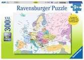Europakaart (CITO) Puzzels;Puzzels voor volwassenen - Ravensburger