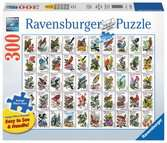 50 Bird Stamps Jigsaw Puzzles;Adult Puzzles - Ravensburger