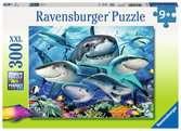 Smiling Sharks XXL 300pc Puslespil;Puslespil for børn - Ravensburger