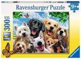 SZCZĘŚLIWE PSY 300 EL Puzzle;Puzzle dla dzieci - Ravensburger