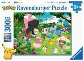 Puzzle 300 p XXL - Pokémon sauvages Puzzle;Puzzle enfant - Ravensburger
