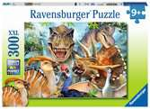 Delighted Dinos XXL300pc Puslespil;Puslespil for børn - Ravensburger