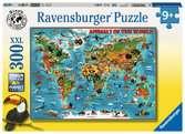 Animaux autour du monde Puzzle;Puzzles enfants - Ravensburger