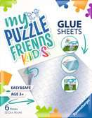 My Puzzle Friends Glue Sheets Puzzle;Puzzlezubehör - Ravensburger