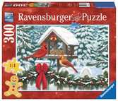 Cardinals at Christmas Jigsaw Puzzles;Adult Puzzles - Ravensburger
