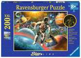 Excursion into Space XXL 200pc GITD Puzzles;Children s Puzzles - Ravensburger