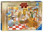 Ravensburger The Corner Shop 100 piece Jigsaw Puzzle with Extra Large Pieces for Adults & for Kids Age 10 and Up Puzzles;Adult Puzzles - Ravensburger