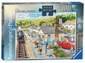 The Country Station, Large 100pc Puzzles;Adult Puzzles - Ravensburger
