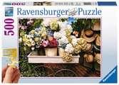 Blumen und Hüte Puzzle;Erwachsenenpuzzle - Ravensburger