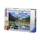 La montagne des Karwendel, Autriche Puzzle;Puzzle adulte - Ravensburger