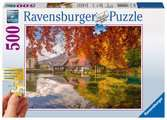 Peaceful Mill, Extra Large 500pc Puzzles;Adult Puzzles - Ravensburger