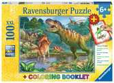 Welt der Dinosaurier Puzzle;Kinderpuzzle - Ravensburger