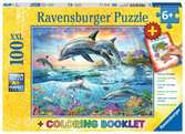 Vibrant Dolphins Jigsaw Puzzles;Children s Puzzles - Ravensburger