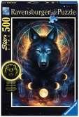 Leuchtender Wolf Puzzle;Erwachsenenpuzzle - Ravensburger