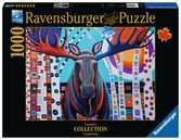 Winter Moose Jigsaw Puzzles;Adult Puzzles - Ravensburger