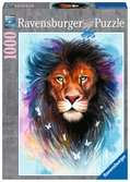 Majestic Lion, 1000pc Puzzles;Adult Puzzles - Ravensburger
