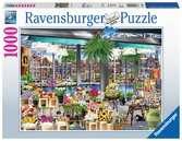 Amsterdam Flower Market, 1000pc Puzzles;Adult Puzzles - Ravensburger