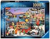 Vánoce doma 1000 dílků 2D Puzzle;Puzzle pro dospělé - Ravensburger
