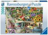 Zahradníkův ráj 2000 dílků 2D Puzzle;Puzzle pro dospělé - Ravensburger
