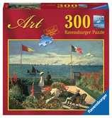 Claude Monet: Die Terrasse am Meeresufer von Sainte-Adresse Puzzle;Erwachsenenpuzzle - Ravensburger
